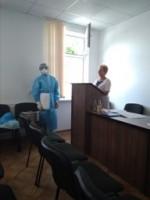 Про проведення навчально-тренувального заняття на базі ДУ «Закарпатський обласний лабораторний центр МОЗ України»